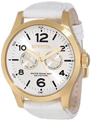 Click for Invicta Men's 12174 Specialty Silver Tone Dial Watch
