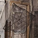 DELUXE COBWEBS - HUGE 4 FOOT PLUS - CLOTH SPIDER CREEPY CLOTH WEB - GREAT HALLOWEEN DECOR!