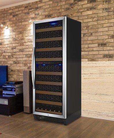 Allavino Ywr-28Dz-Srt-C 99 Bottle Dual-Zone Wine Cellar Refrigerator - Stainless Door