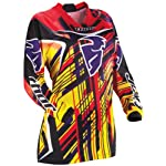 Thor Girls Jersey Phase Stix - Yellow M