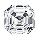 GIA Certified Asscher-Cut Natural Loose Diamond (1/2 - 1 1/2 Carat)