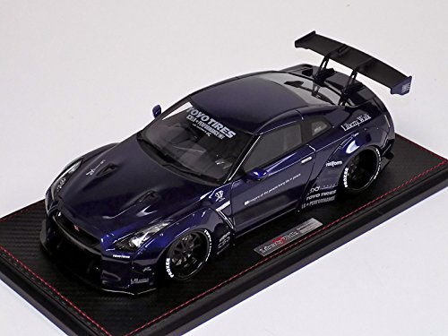 1/18 Ignition Model Nissan GT R R35 LB Works in Blue Metallic 【LB パフォーマンス!!】