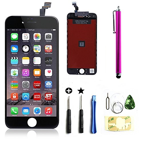 lcd-touch-screen-digitizer-frame-assembly-replacement-set-for-iphone-6-black
