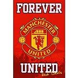 Man UTD Forever Manchester United Sports Poster