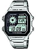 Casio Herren-Armbanduhr XL Casio Collection Digital Quarz Edelstahl AE-1200WHD-1AVEF