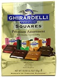 Ghirardelli SQUARES Premium Assortment Gold, 18.59 oz.