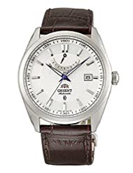 Orient 21-Jewel Automatic Watch with Sapphire Crystal and Power Reserve FD0F003W