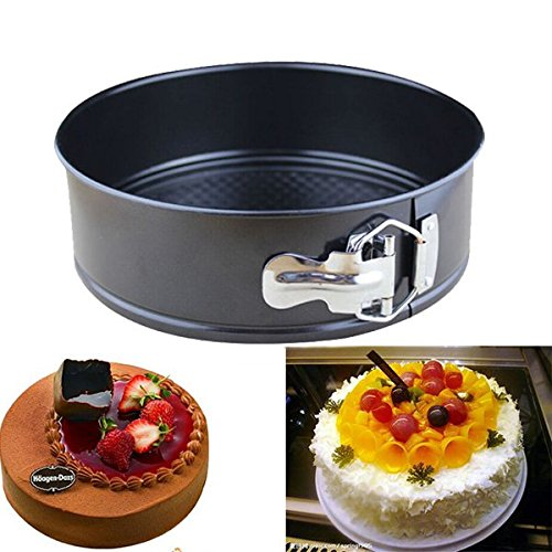 Shop24Hrs 10 Inch Non-stick Cake Pan Stainless Steel Live Bottom Cake Pans Mold (Charlie Brown Cake Pan compare prices)