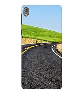 EPICCASE Road to Success Mobile Back Case Cover For Sony E5 (Designer Case)