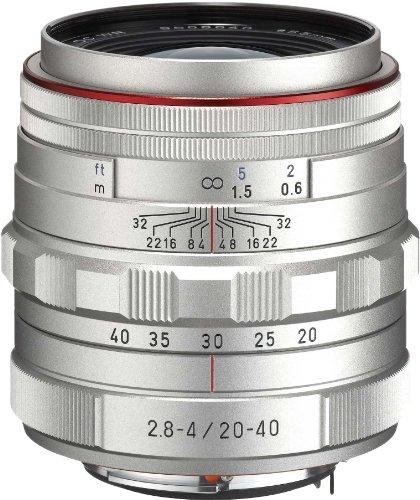 Pentax Limited Lens Standard Zoom Lens Hd Pentax-da20-40mm F2.8-4ed Limited Dc Wr Silver
