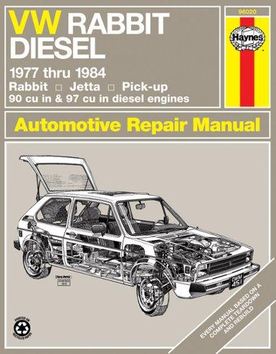 Vw Rabbit Diesel 1977 Thru 1984 (Haynes Manuals)