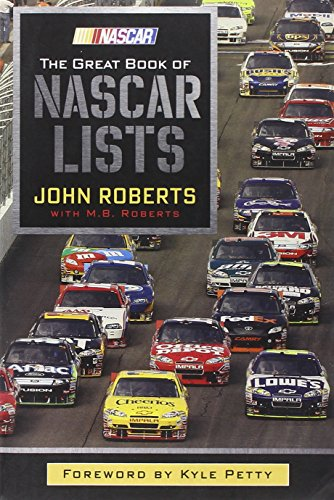 Book: The Great Book of Nascar Lists by M.B. Roberts