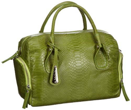 Betty Barclay Siena A-536 SI 23, Damen Bowlingtaschen, Gr&#252;n (apple), 37x27x17 cm (B x H x T)