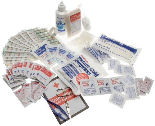 First Aid Only Refill For Bulk 25 Person First Aid Kit, 106-Piece Boxes