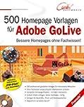 500 Homepage Vorlagen f�r Adobe GoLive