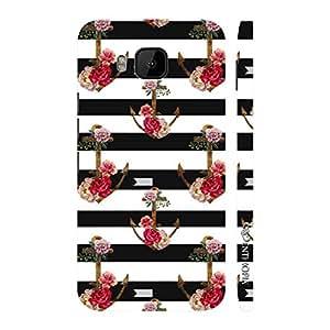 Enthopia Designer Hardshell Case Anchored Love Back Cover for HTC One M9