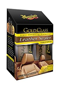 Meguiar's G3800 Gold Class Leather Sealer Treatment