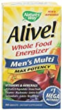 Alive! Mens Max Potency Multivitamin, 90 tablets