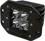 Rigid Industries 21211 Dually Floodlight Flush Mount, (Set of 2)