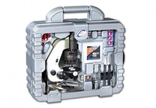 Breimeir 8807 mikroskop set 100 600 1200 58 teilig im koffer