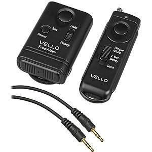 Amazon Com Vello Freewave Wireless Remote Shutter
