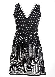 Sakhee Women's Cocktail Tunic Dress (1046_Ivory_XXXXX-Large)