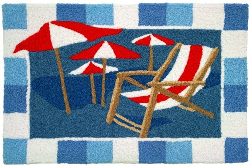 Beach-Chair-and-Umbrellas-Jellybean-Accent-Area-Rug