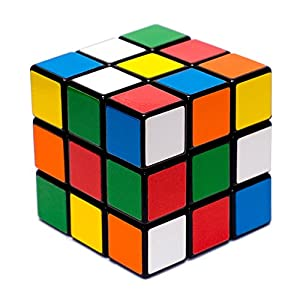 Rubik's Cube Brain Teaser Puzzle with Helpful Hints