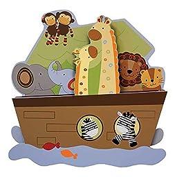 S. S. Jungle Animals Unisex Nursery Wall Art Decor