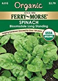 Search : Ferry-Morse 3121 Organic Spinach Seeds, Bloomsdale Long Standing (6 Gram Packet)