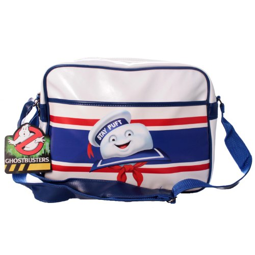 Official Ghostbusters Stay Puft Marshmallow Man Messenger Bag. Large enough for A4 folders.