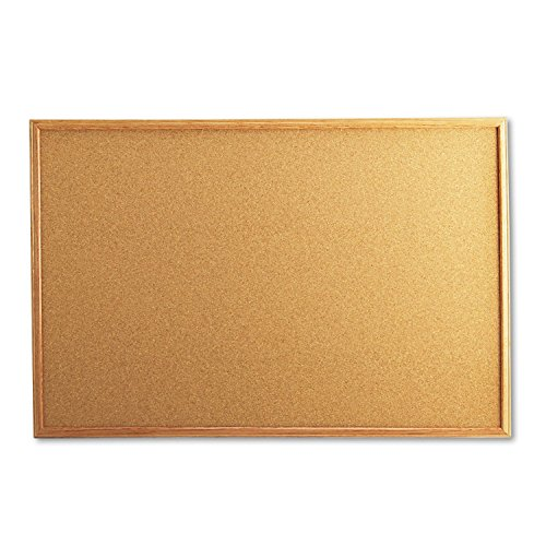 Universal 43603 Cork Board with Oak Style Frame, 36 x 24, Natural, Oak-Finished Frame (24 X 36 Cork Board compare prices)