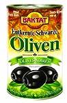 Baktat Schwarze Oliven o. Stein leich...