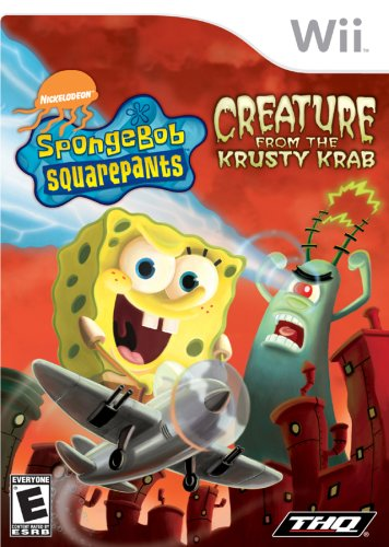 Spongebob Squarepants: The Creature From The Krusty Krab For Nintendo Wii front-984956