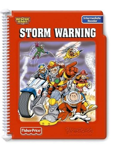Power Touch Book: Rescue Heroes Storm Warning Intermediate Reader Book