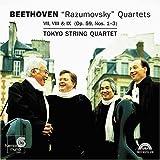 ベートーヴェン:「ラズモフスキー」四重奏曲集(2CD) [Import] (STRING QUARTETS RAZUMOVSKY OP 59 1-3)