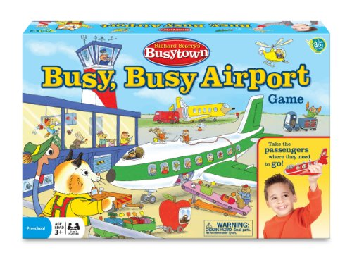 Richard Scarry Airport Game (I Can Do That Cat In The Hat compare prices)