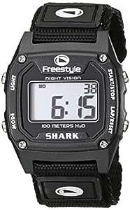 Freestyle Unisex 779011 Shark Classic Black Nylon Strap Watch