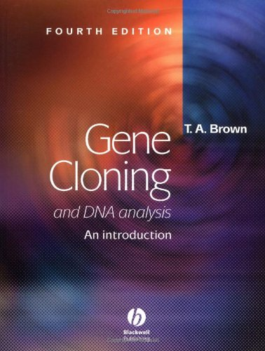 an introduction to the analysis of cloning Get this from a library gene cloning and dna analysis : an introduction [t a brown] -- known world-wide as the standard introductory text to this important and exciting area, the seventh edition of gene cloning and dna analysis addresses new and growing areas of research whilst.