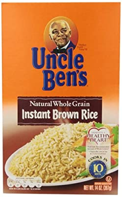 Uncle Ben's Fast & Natural Brown Rice, Instant, Whole Grain, 14 oz