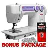 Janome 712T Treadle Sewing Machine & FREE BONUS PACKAGE!