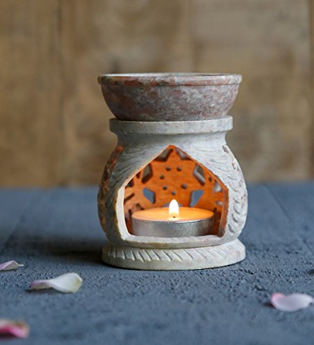 natural-soapstone-oil-burner-with-floral-designs