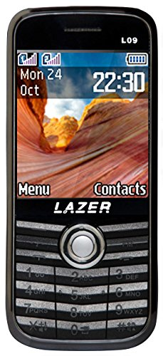 Surya Lazer Heavy Battery Dual Sim Camera Mobile 2.4 inch Grey/ Black Color