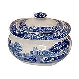 Spode Blue Italian Covered Sugar Bowl