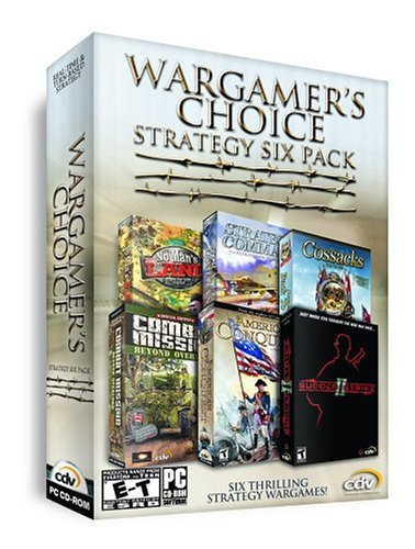 Wargamer s Choice Strategy Six Pack No Man s Land  Strategic Command  Cossacks  Combat Mission Beyond OverloadB0006FZUIG