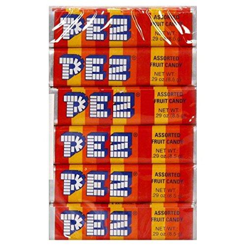 pez-refills-fruit-flavors-pack-of-6-174oz-493g