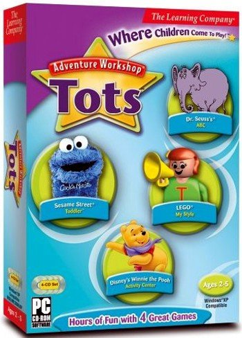Adventure Workshop For Tots front-883807