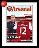 Arsenal F.C. Pesonalised Magazine Cover