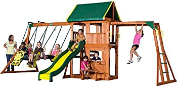 Backyard Prairie Ridge Cedar Swing Set