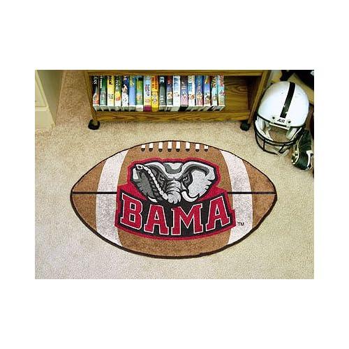 Alabama Crimson Tide Football Mat